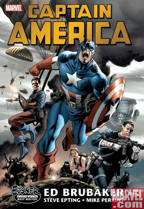 capitan america,  marvel, brubaker