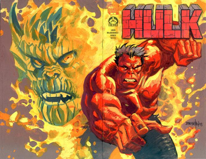 the hero iniciative, ultimate 100, hulk