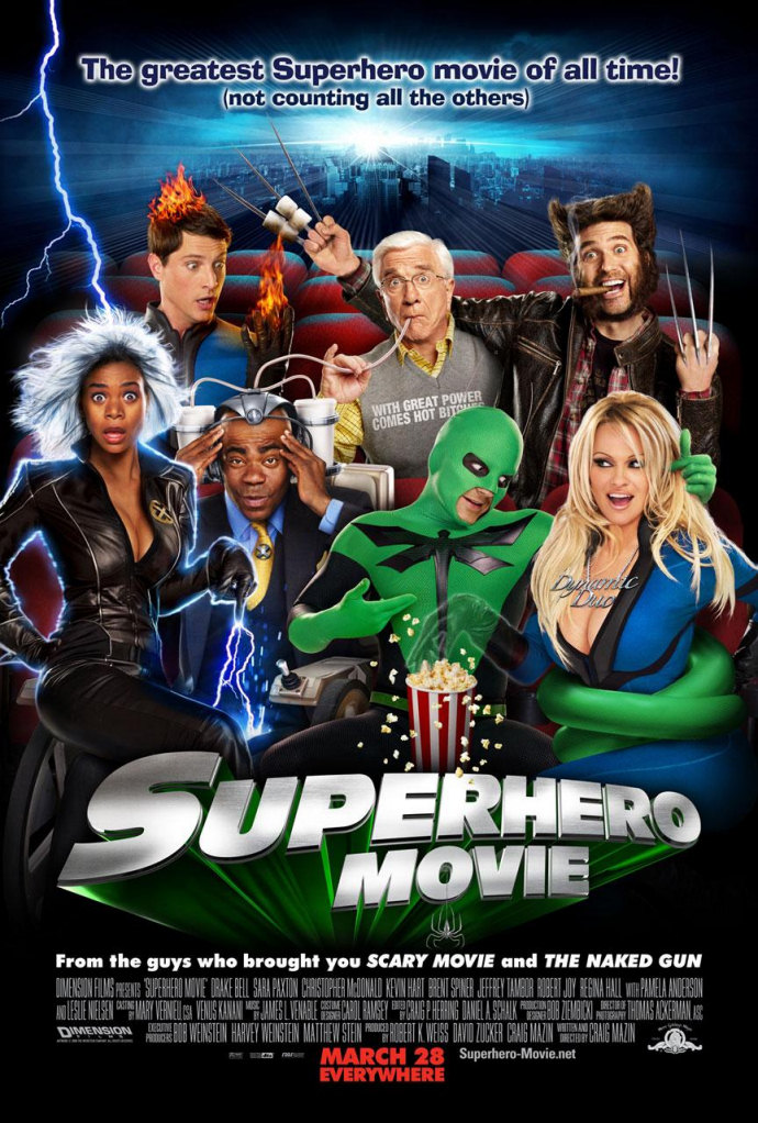superhero movie, cartel, estados unidos, cine
